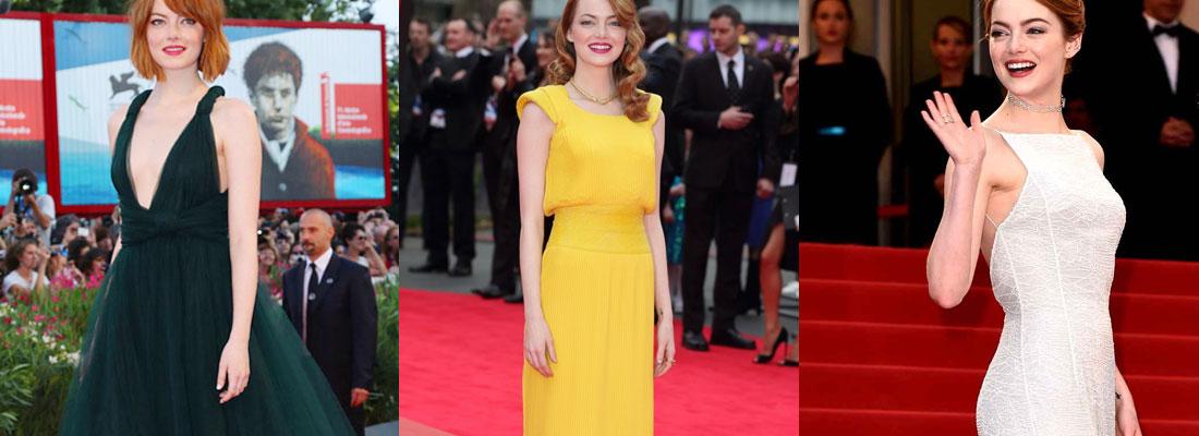 les robes de Emma Stone
