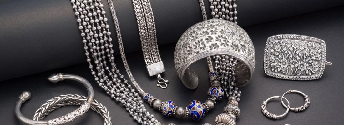 Achat de bijoux en argent